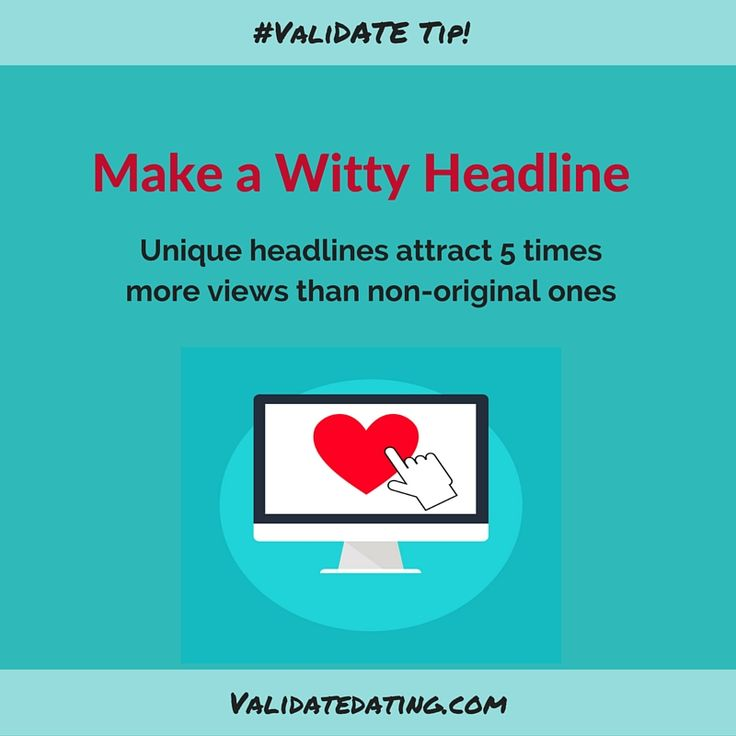 how to write dating profile headline