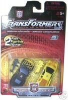 ($12.00) Transformers 2 Pack - Hot Shot and R.e.v. Robots in Disguise Action Figures   From Transformers