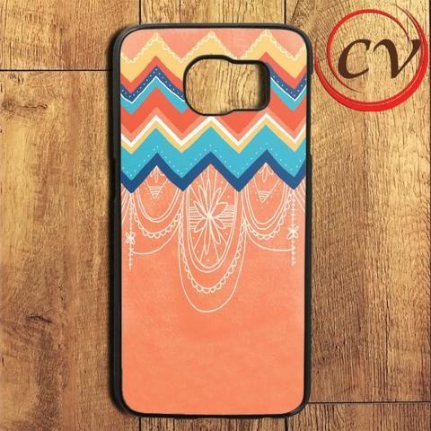 Chevron Pattern Art Samsung Galaxy S6 Edge Plus Case