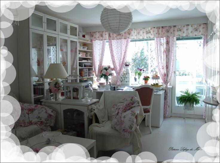 Wohnzimmer in meiner Wiener Wohnung * by Patricia Lefaye du Monte