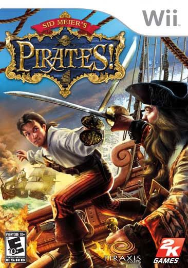 Take 2 Interactive Wii - Sid Meier's Pirates! - By 2K Games, Blue