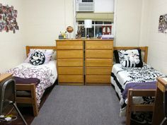 Taren And Alexisu0027 Room: A Great Example Of The University Of Maryland Dorm!(yes,  They Are All Super Tiny) Part 51
