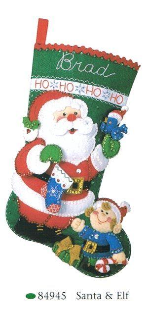 Enfeites de Natal de feltro: 100 modelos de botas de …   – Artesanato passo a passo