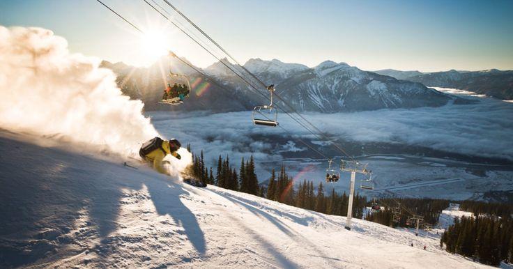 Custom rankings: Top 20 ski resorts in North America #snow