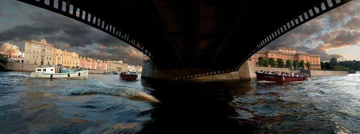 The Fontanka river.  The calendar of a Defa company.  2009. Vladimir Brylyakov.