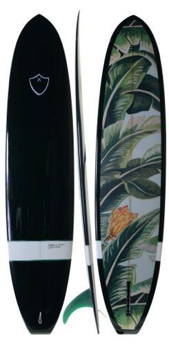 Sibella & McTavish Jungle surfboards. Black will melt the board by the sun though.