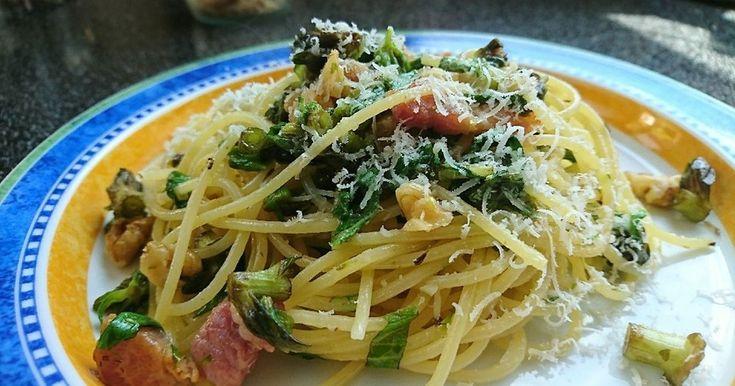 ふきのとうのパスタ by kuragenoie 【クックパッド】 簡単おいしいみんなのレシピが281万品