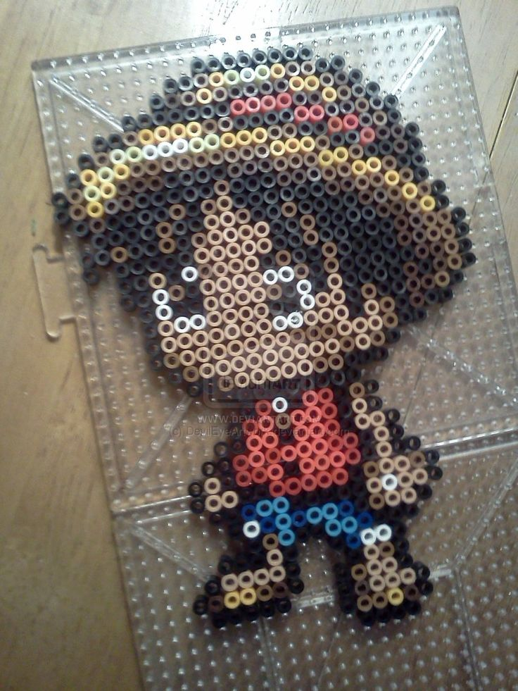 Häufig 30 best perles hama manga images on Pinterest | Hama beads, Bead  AP33