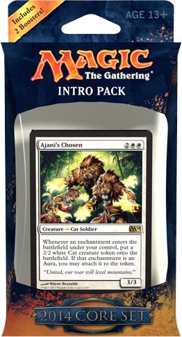 Magic the Gathering - 2014 Core Set Lightforce Intro Pack by Wizards of the Coast