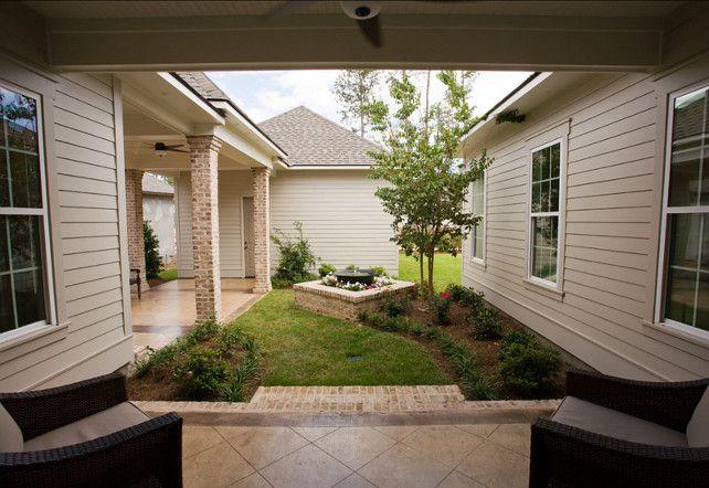 Empty Backyard Ideas :  Cottage  Pinterest  Small Backyards, Backyards and Backyard Ideas