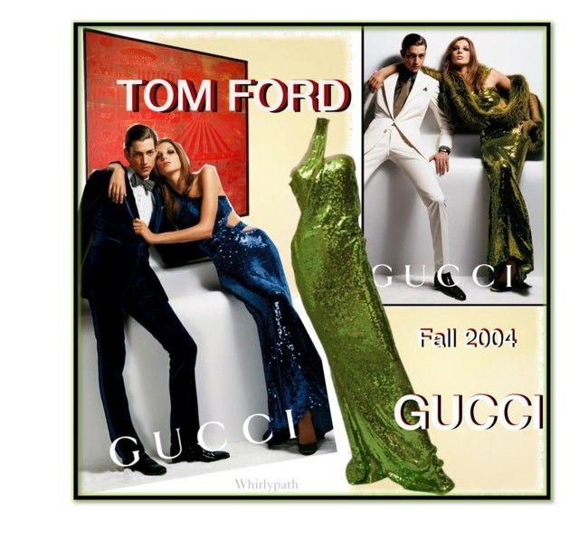 Tom Ford For Gucci Vintage 2004 by whirlypath on Polyvore featuring Tom Ford, Gucci and vintage
