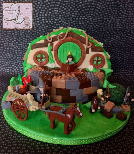 Lego Lord Of The Rings Birthday Cake Cakes And Pastries Website