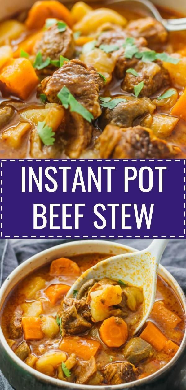 I Love This Instant Pot Beef Stew It S An Easy To Make