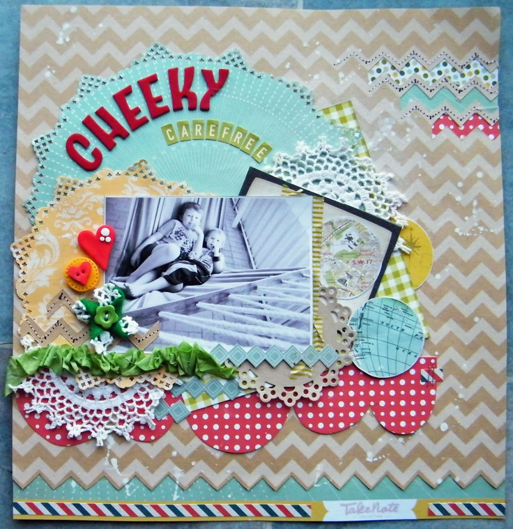 A Layout i created with A Piece of Cake Designs - June Kit :}