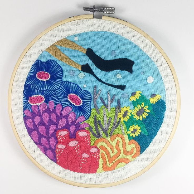 Underse Embroidery #1 by Christa Gracia S