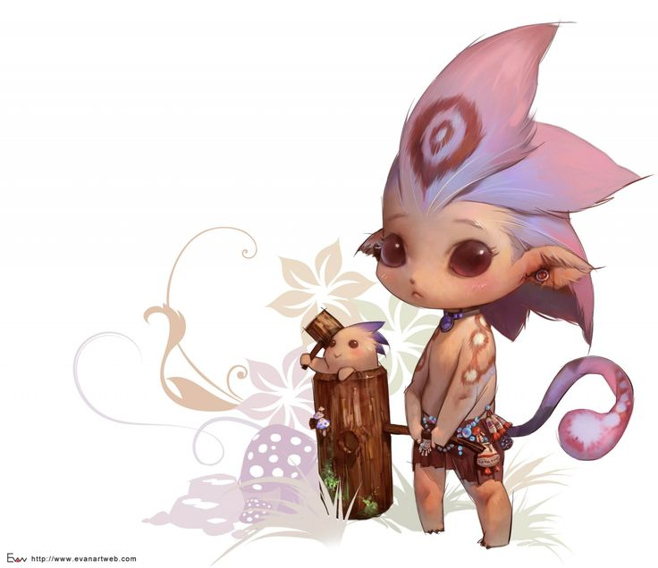 Game project-13 Picture  (2d, fantasy, monster, concept art, cute, creatures)