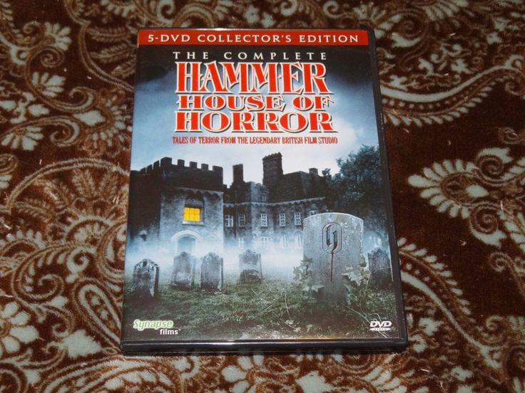 The Complete Hammer House of Horror (DVD, 2012, 5-Disc Set) Synapse Collector's!