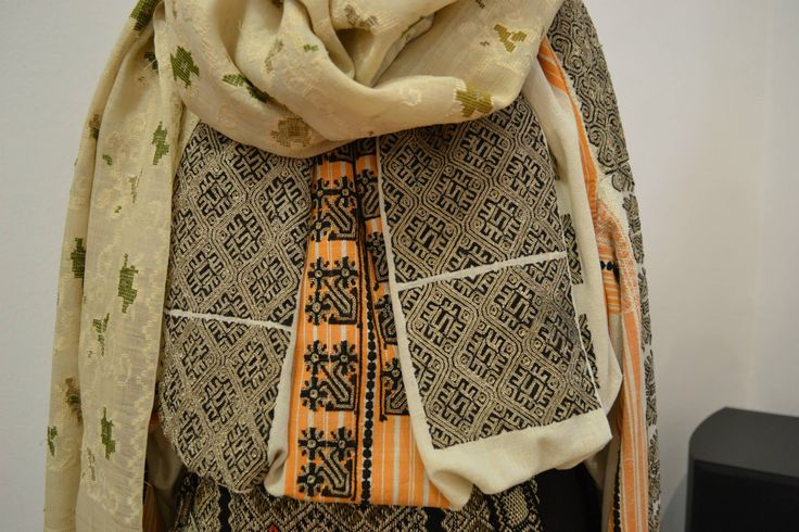 Romanian blouse - ie. Detail. Muscel region.
