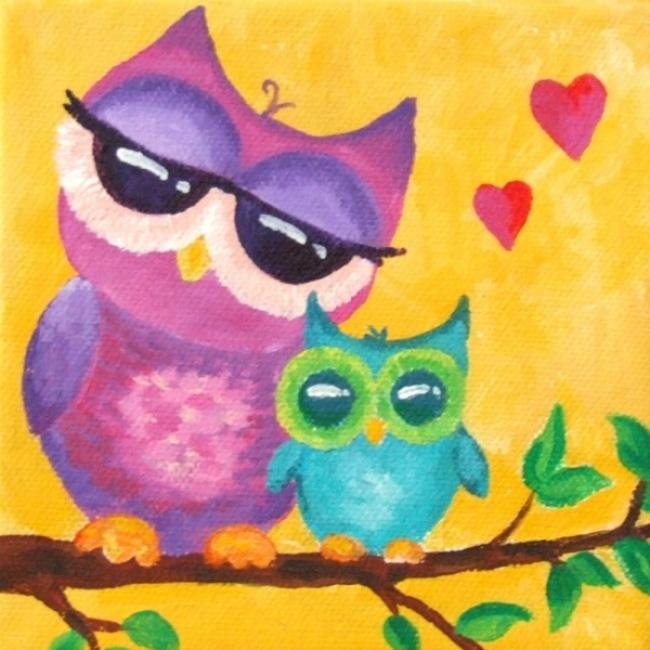 83 best Owl canvas ideas images on Pinterest | Canvases ...