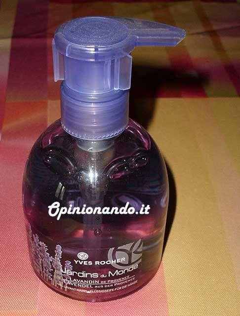 Yves Rocher Sapone Liquido Lavandina di Provenza - #Opinionando #Recensione