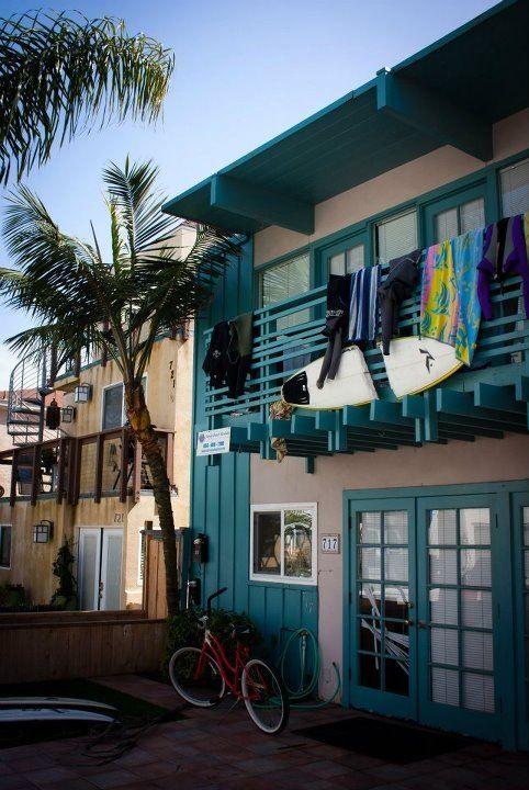 SUN FOR A CLOCK: Color, Exterior, Dream, California, Beach Houses, Surf Shack, Beach Shack, Beach Life, Snowboards
