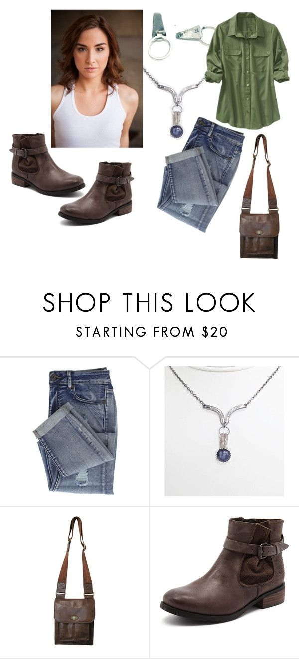 shop the look by danikeith - i am a little over the moon that a pair of earrings that i gifted to #Stitchers made it onto the show and who could ask for a better pair than the ever awesome Allison Scagliotti and my stitcher post earrings - her #Camille character is smart, witty, badass and the right amount of snark - therefore the perfect {dk} girl