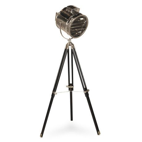gorgeous old school hollywood lampHollywood Lamps, Floor Lamps, Old Hollywood, Industrial Lighting, Industrial Lights, Schools Hollywood, Floors Lamps, Hollywood Tripod, Tripod Floors