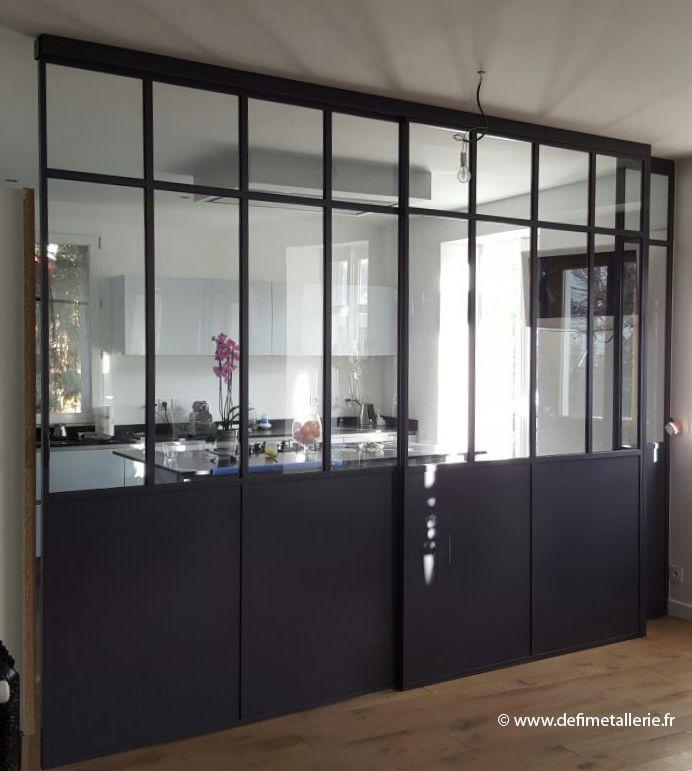 Defi métallerie - Les réalisations en verrières d'intérieur en Ile de France