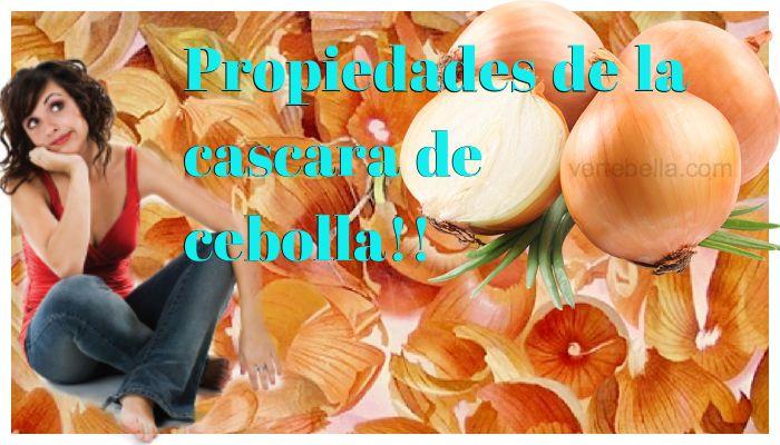 Cascara de cebolla propiedades. Nunca tires la cascara de cebolla, estas son sus…