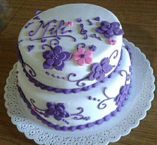 Violetta's cake - Torta de Violetta
