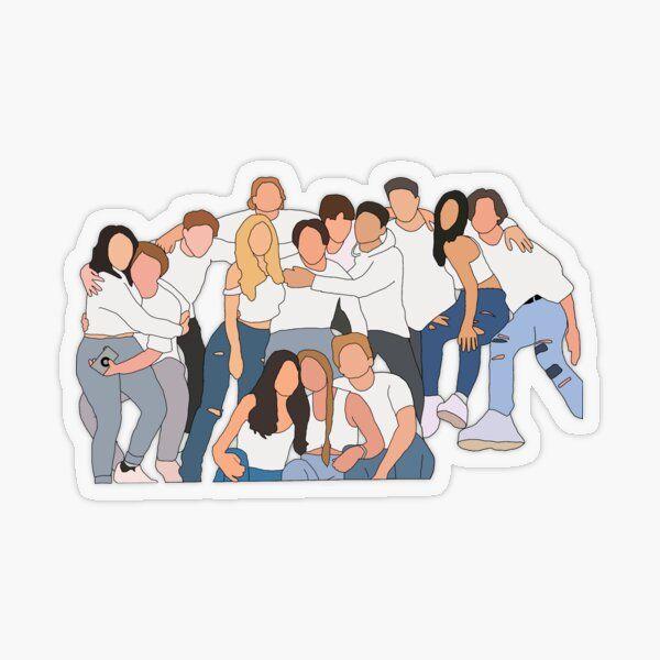 Hype House Stickers Cute Laptop Stickers Cute Stickers Boys Sticker