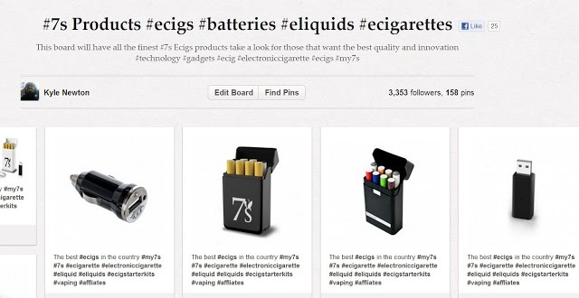 (Innovative ecigs by 7s alternative to smoking  #7secigs #ecigarette #electroniccigarette #ecig #ecigs #vapers #vaping #eliquid #tech #7s