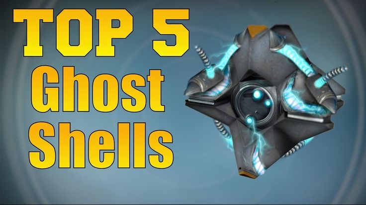 awesome Destiny - Top rated 5 Ghost Shells In The Video game! (In My Feeling!)