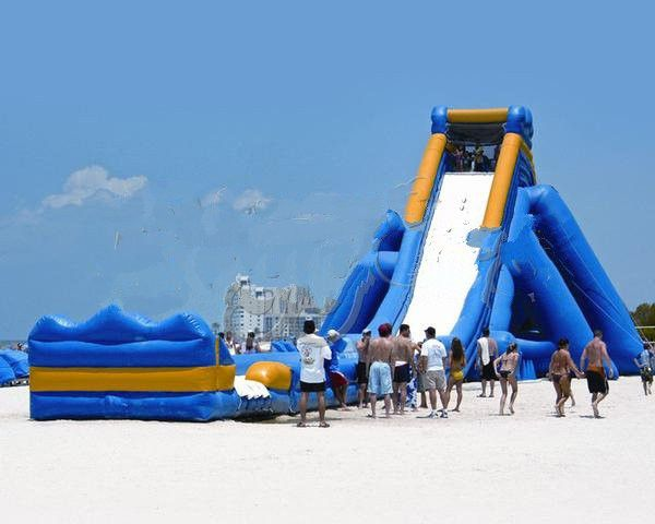 Giant Inflatable Water Slide, 125x33x36ft