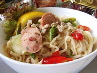 Spicy Mama Noodles ( Yum Ma Ma )