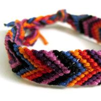 Friendship bracelets are the number one guests you want to invite to your arm party. Once a craft loved by kids of all ages, these brightly-coloured armbands have made quite the comeback. Braid them, stack them, embellish them, or trade with friends, these woven beauties are everywhere. In this tutorial, we will be making a simple six-colour friendship bracelet in a V pattern.   Difficulty: Beginner; Length: Medium; Tags: Jewellery, Scissors, Embroidery Thread