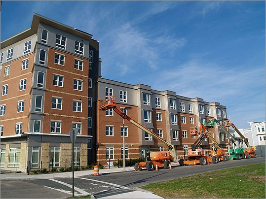 Superior Old Colony Projects In South Boston Get A Facelift.