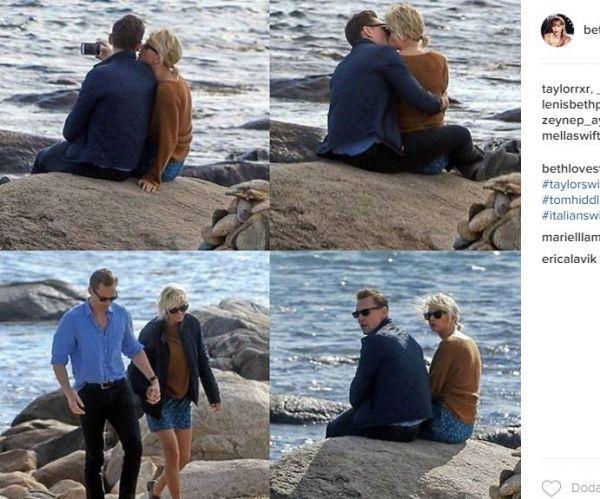 Zdjęcie z artykułu: Taylor Swift i Tom Hiddleston SĄ PARĄ?! Całowali się na plaży!