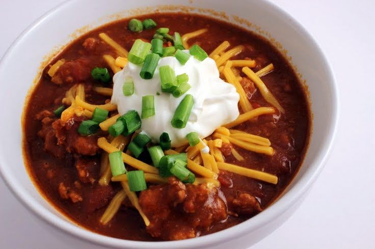 "... turkey as well"" @allthecooks #recipe #chili #easy #hot #quick #spicy"