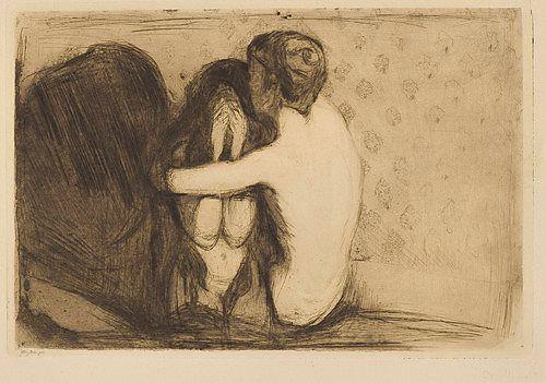 Edvard Munch – Consolation, 1894