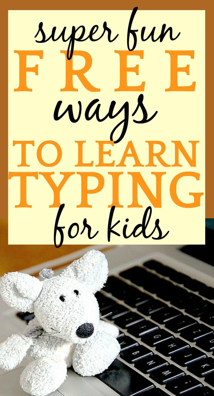 FREE WAYS TO TEACH TYPING TO KIDS
