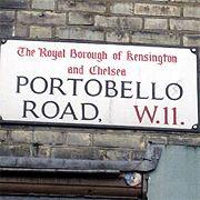 Portobello Road Market in Notting Hill / Рынок Портобелло в Ноттинг Хилл