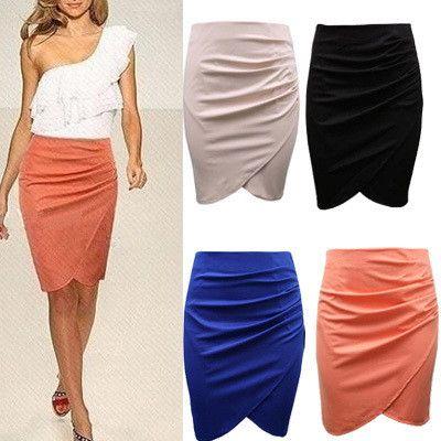2015 Summer Brand New Fashion High Waist Knee Length Pleated Slim Pencil Skirt OL Lady Career Skirt Plus Size Women Clothing - http://www.freshinstyle.com/products/2015-summer-brand-new-fashion-high-waist-knee-length-pleated-slim-pencil-skirt-ol-lady-career-skirt-plus-size-women-clothing/