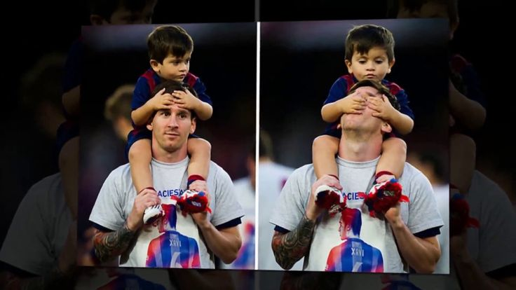 It's All About (The) Lionel Messi's Son Thiago Messi - 2016