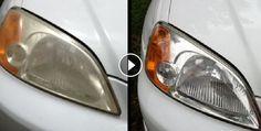 Truque deixa faróis do carro brilhando | Receitas Naturais  http://www.receitanaturais.com.br/truque-deixa-farois-do-carro-brilhando/