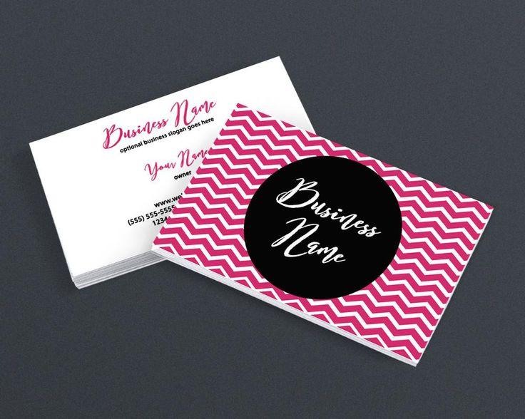 Bold Business Card Design