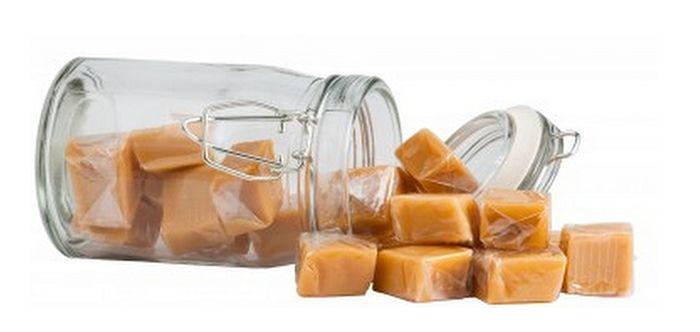 Recette des bonbons mous au caramel au beurre salé  http://www.caramelaubeurresale.net/recette-bonbons/