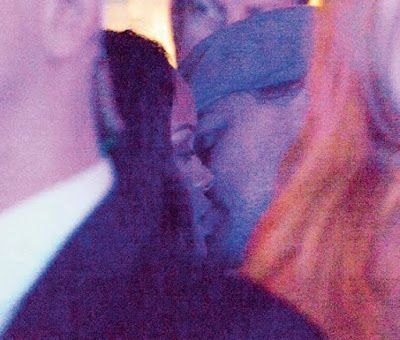 Photos of Rihanna and Leonardo DiCaprio kissing in Paris   After alot of speculation and denial from both sides the photo of Rihanna and Leonardo kissing at a nightclub has surfaced..They were reported to have met in Paris and shared a kiss...His reps said it was just a light peck as they bumped into each other..From this photowe know Leo is down with her.. Love them together..  ENTERTAINMENT