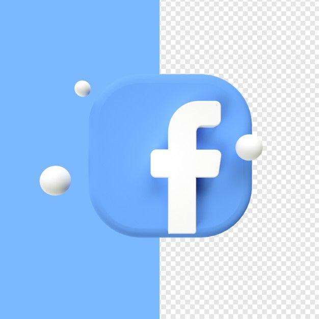 Facebook Logo Icon Transparent 3d In 2021 Logo Icons Icon Transparent