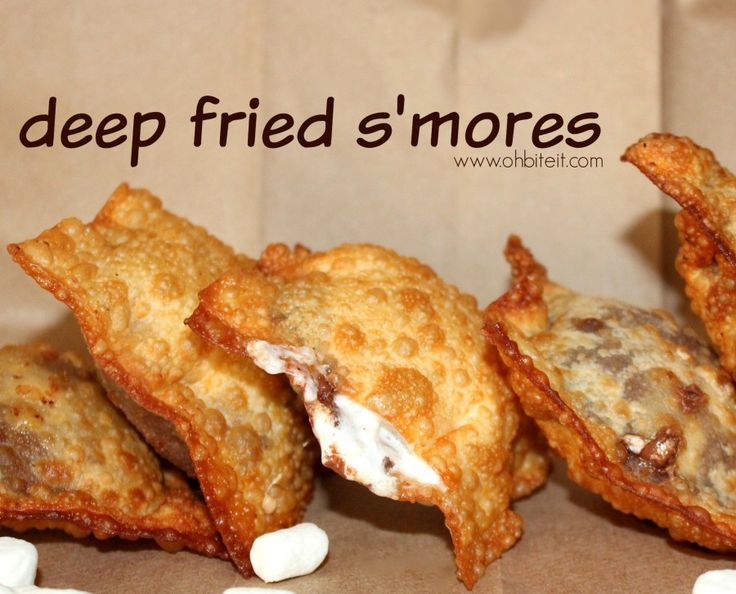 Deep Fried Smore's!